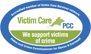 Victim Care Devon and Cornwall accredited member